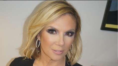 Ramona Singer looking stunning in professional makeup