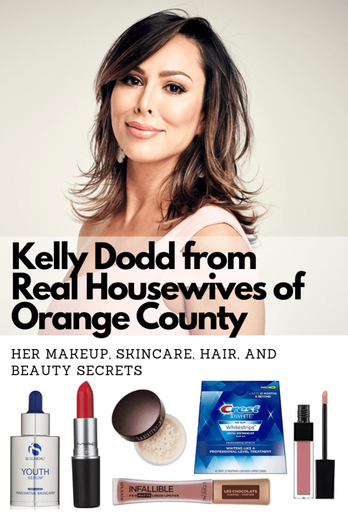 Kelly Dodd from Real Housewives of Orange County's makeup skincare hair and beauty products including her plastic surgery