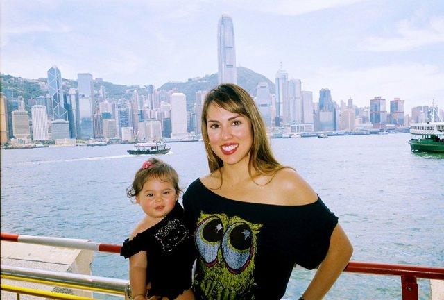 Baby Jolie with mom Kelly Dodd