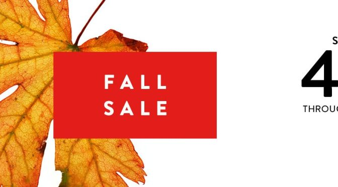 Nordstrom Fall Sale 2018