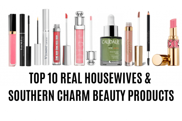 TOP 10 REAL HOUSEWIVES MAKEUP AND SKIN CARE PRODUCTS 2018