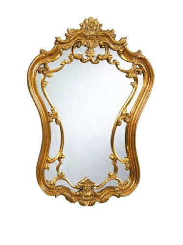 Bassett Mirror Hermosa Wall Mirror in Gold Leaf