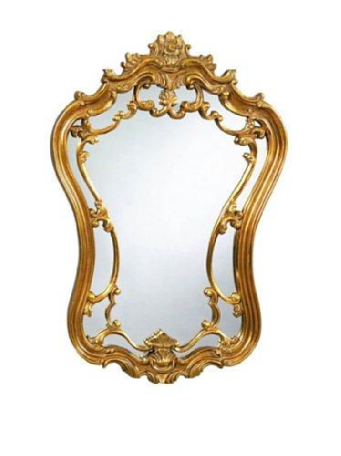 Bassett Mirror Hermosa Wall Mirror in Gold Leaf