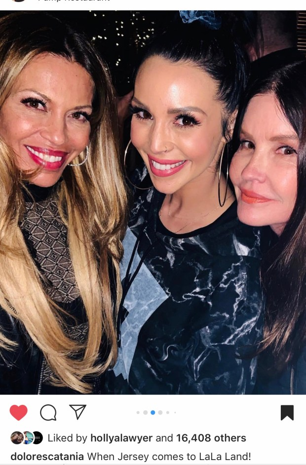 Dolores Catania, Scheana Shay, and Janice Dickinson at PUMP restaurant