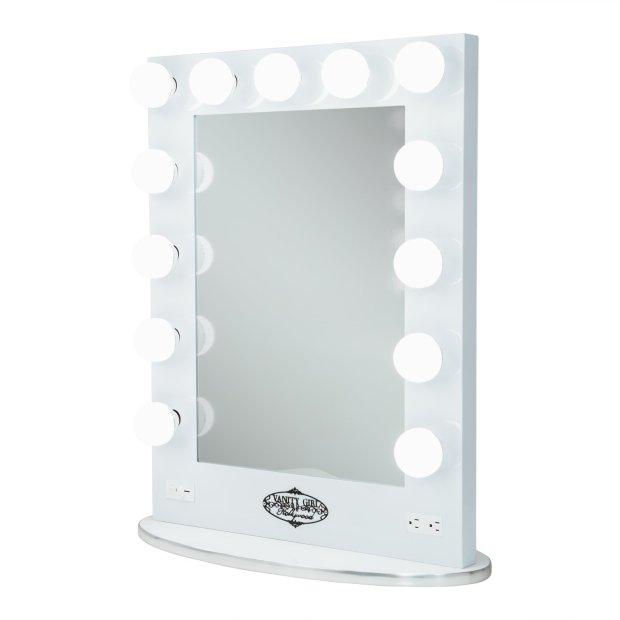 Vanity Girl Hollywood Lighted Mirror Tall