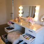 Diy Ikea Alex Vanity Blushing In Hollywood