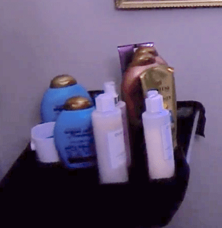 Kyle Richards shampoo and hair products