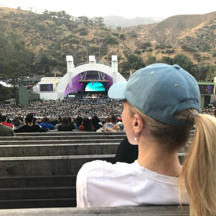 Me at The Hollywood Bowl