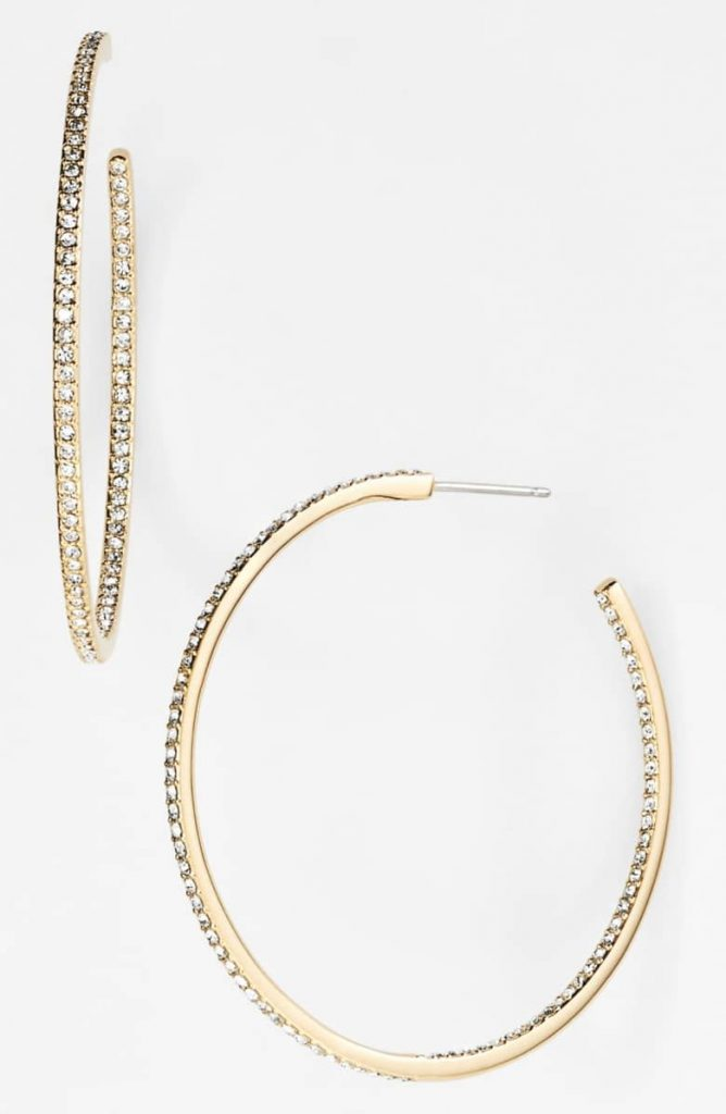 Nadri Medium Inside Out Hoops