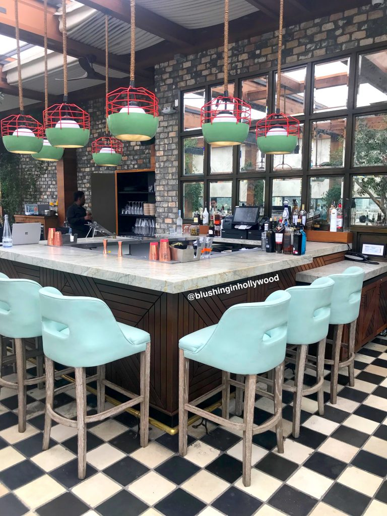 The Bar at The Highlight Room on the rooftop at The Dream Hotel in Hollywood