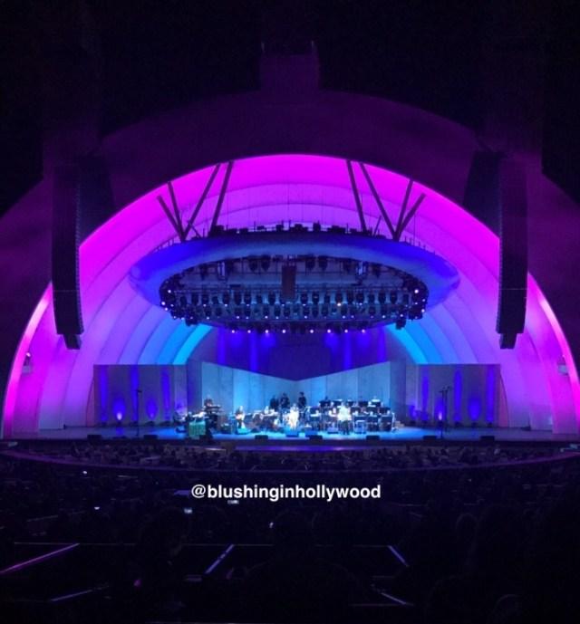The Hollywood Bowl at Night