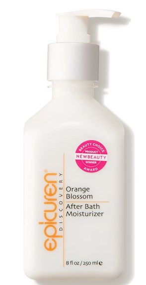 Epicuren Discovery After Bath Moisturizer in Orange Blossom