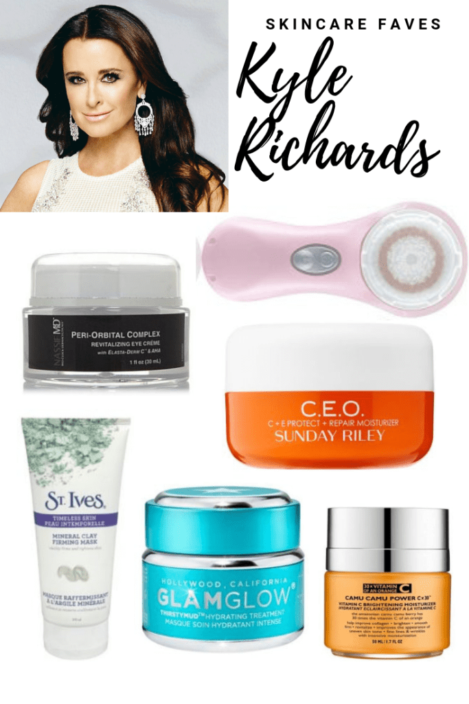 Kyle Richards from Real Housewives of Beverly Hills Skincare Favorites