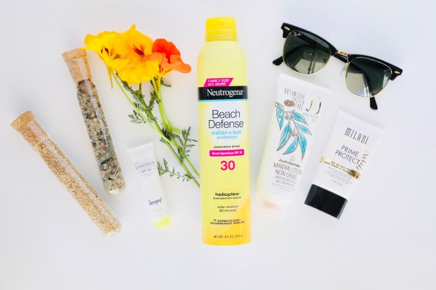 Sunscreen Recommendations
