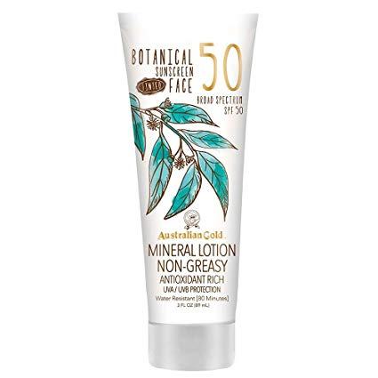 Australian Gold Botanical Tinted Sunscreen SPF 50