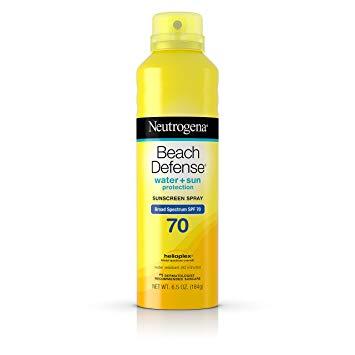 Neutrogena Beach Defense SPF 70 Spray Sunscreen