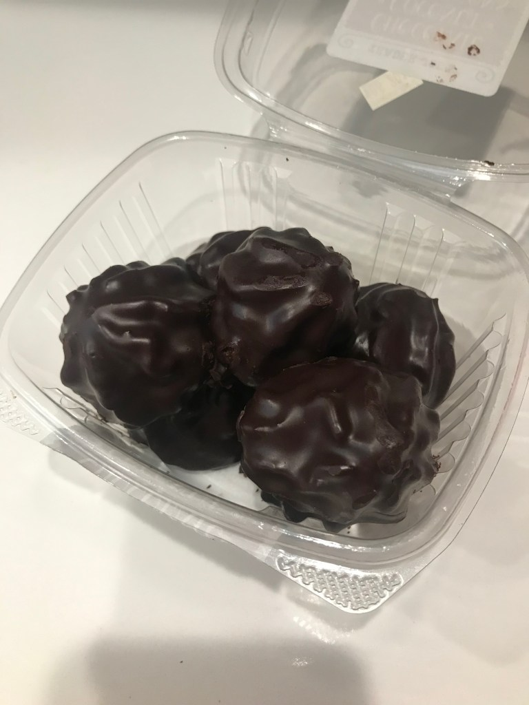 Chocolate Covered Coconut Macaroons From Trader Joe S Blushing In Hollywood