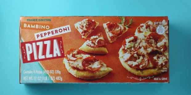 Trader Joe's Bambino Pepperoni Pizza Photo: BecomeBetty.com