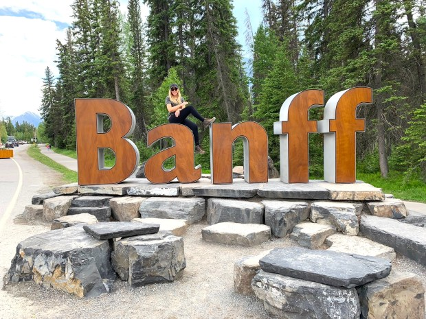 Banff Sign Photo