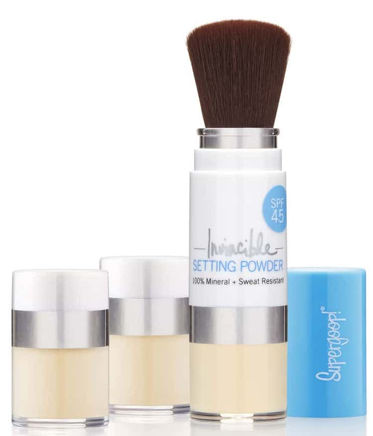 Supergoop! Invincible Setting Powder SPF 45 & Refill Set