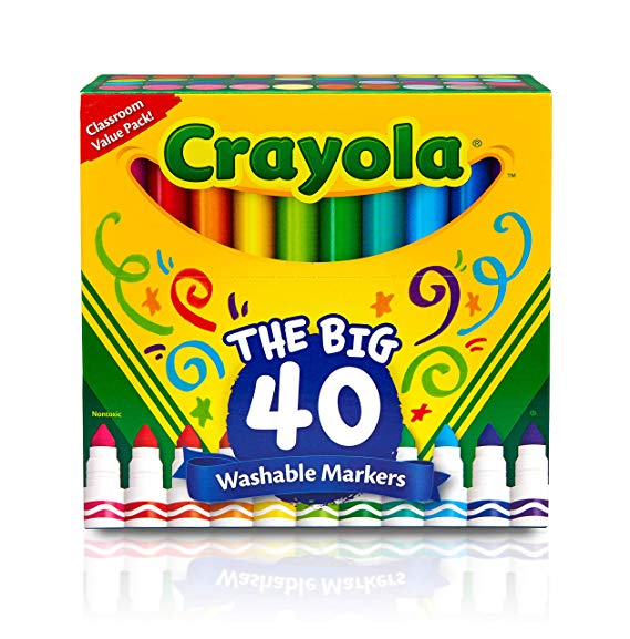 Crayola Markers 40 Pack
