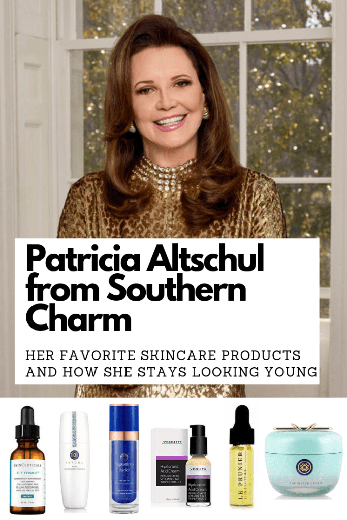 Patricia Altschul from Southern Charm's skincare and how she stays looking so young