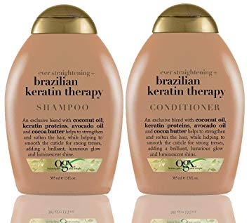 Organix Brazilian Keratin Therapy Shampoo and Conditioner