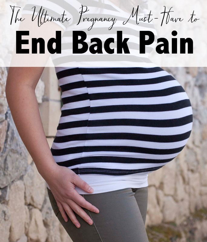The Ultimate Pregnancy Must-Have to End Back Pain, Blanqi Maternity Support