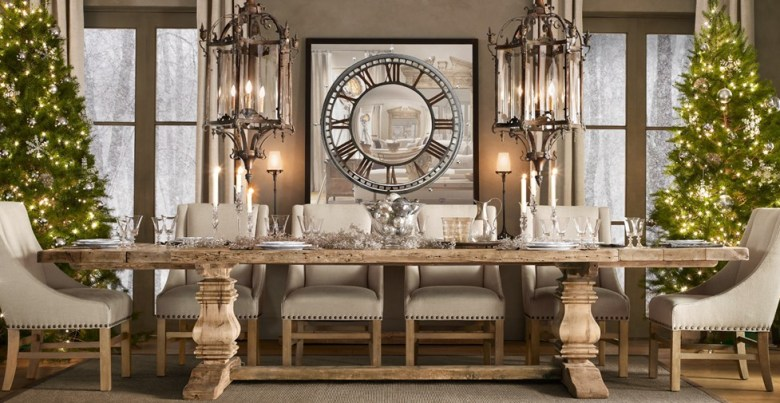 All things Christmas: Restoration Hardware, Pottery Barn ...