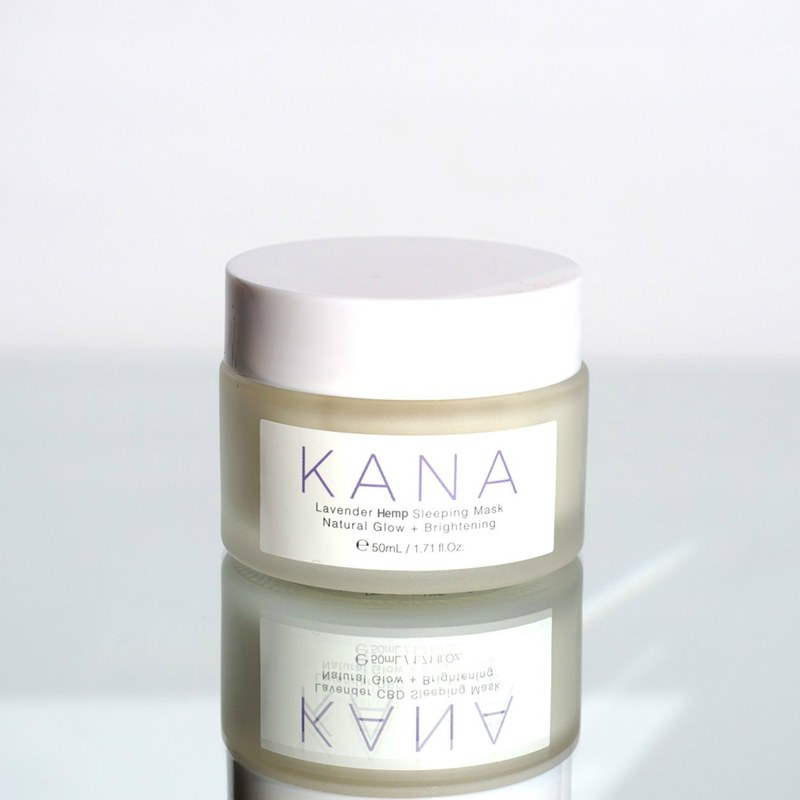 Kana Skincare CBD Hemp Sleeping Mask Jar