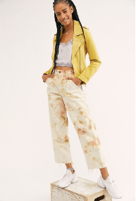 Free People Tie Dye Utility Pants $148