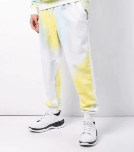 OFF-WHITE x The Webster tie-dye track pants $344
