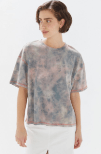 Urban Outfitters Boston Oversized Washed Tie-Dye Tee $44