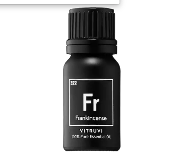 Frankincense Essential Oil available at Sephora for $18 that helps you feel grounded and relaxed. It comes in black packaging that ensure that no UV light will get in it