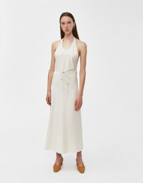 The Baserange apron style slip dress