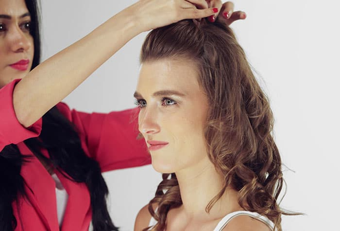 Puff Hairstyle DIY – Step By Step Tutorial 4
