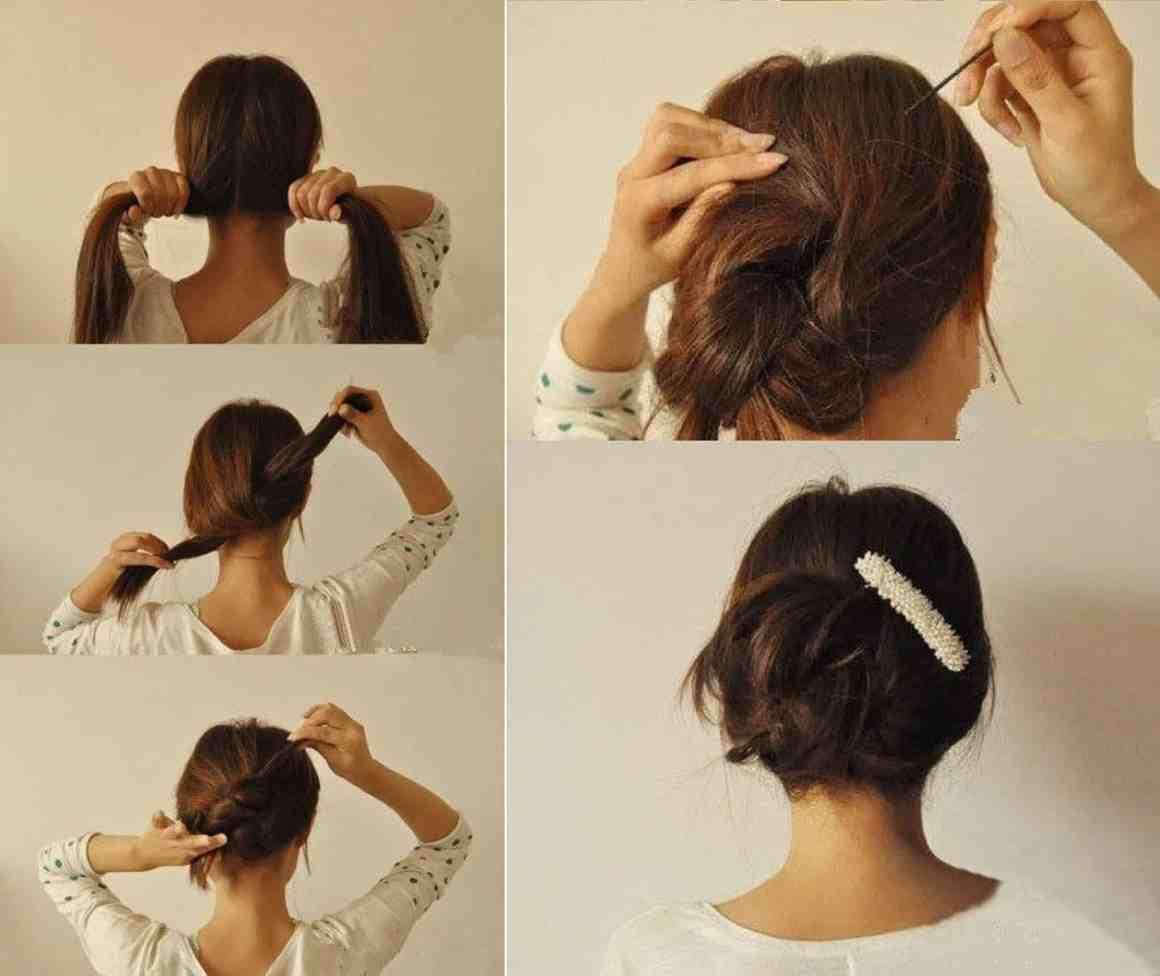 Try Cute Hairstyles To Give You Glamorous Look In 10 Minutes 4