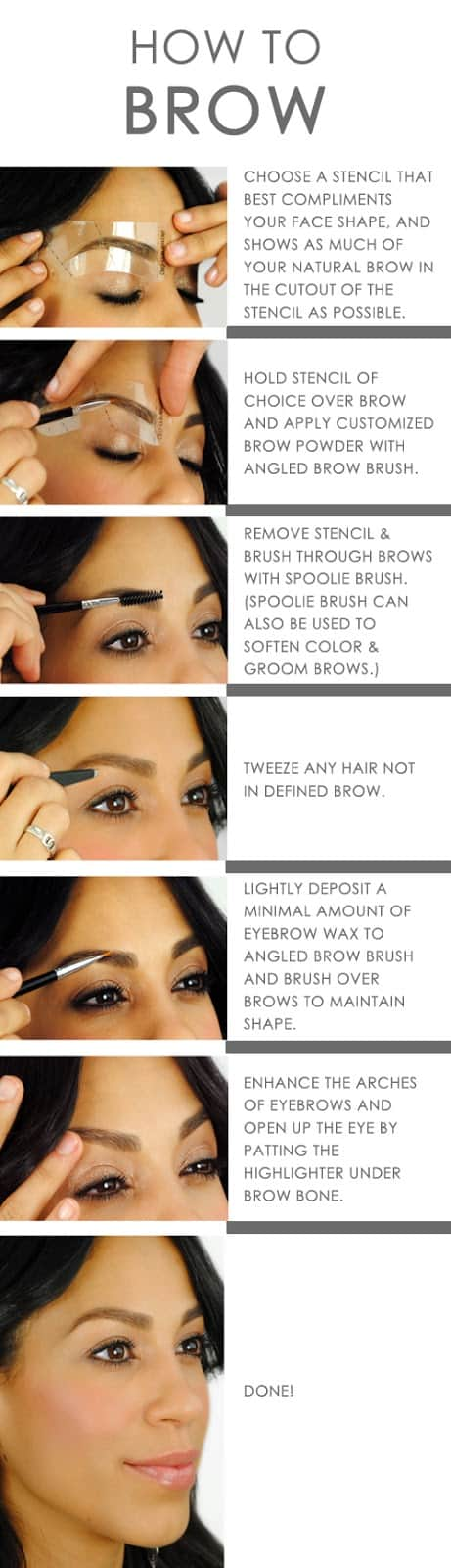 How To Define Your Eyebrows 3