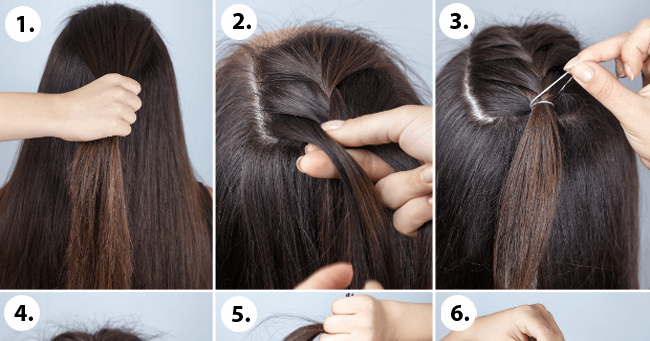 How To Make Half Bun Hairstyle In No Time