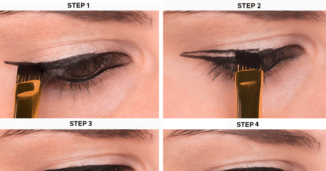 How to Do Winged Eyeliner 2