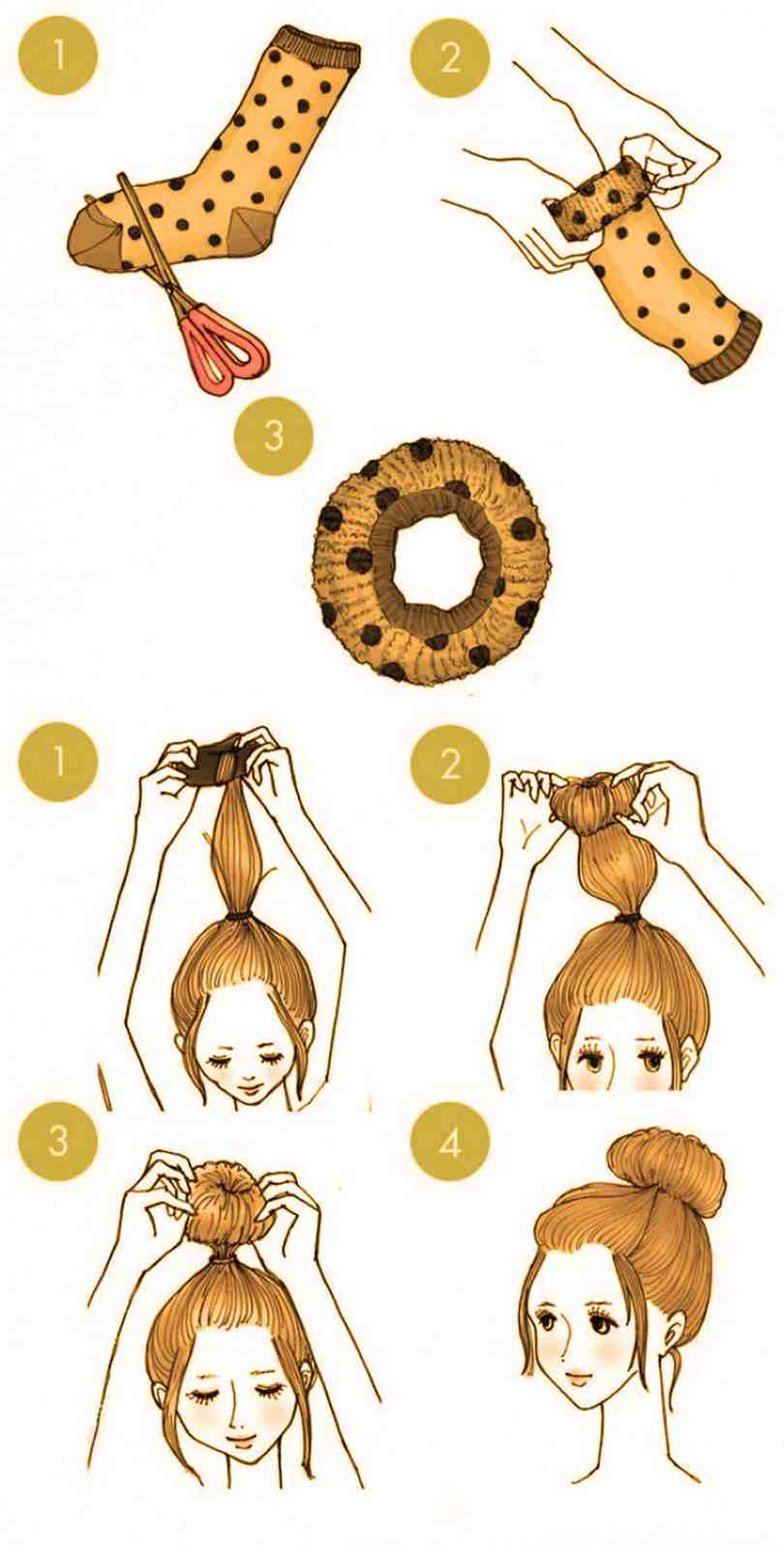 10 Quick Cute Hairstyles That Take Only 2 Minutes Of Your Time 5