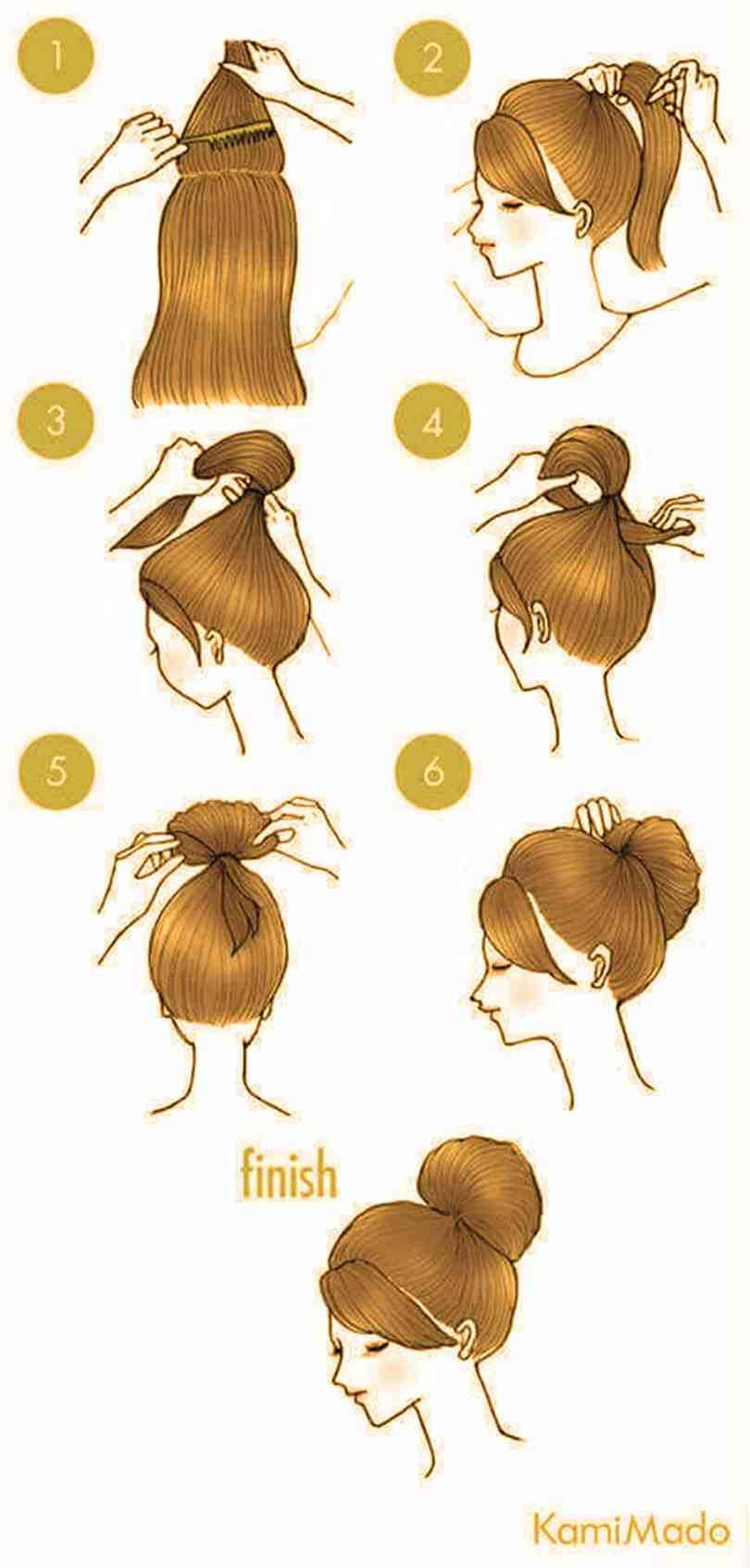 10 Quick Cute Hairstyles That Take Only 2 Minutes Of Your Time 9