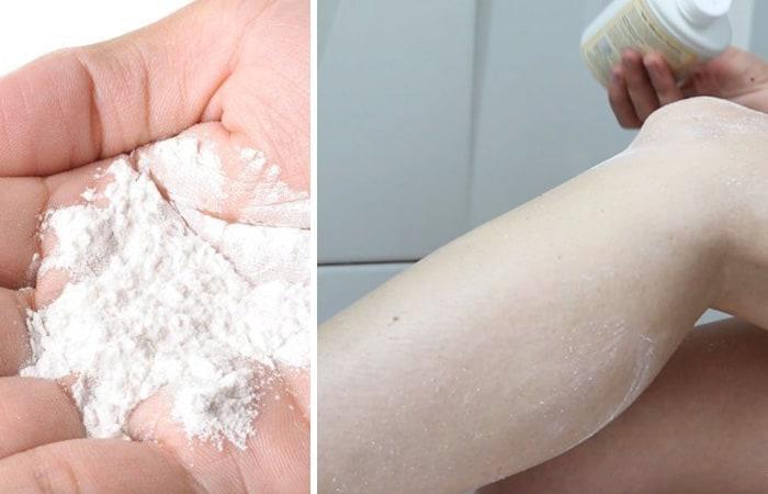 Some Blissful Beauty Hacks Using Baby Powder 3