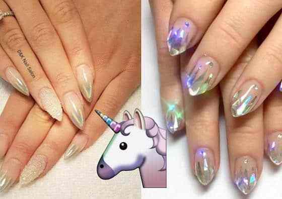 Unicorns nails