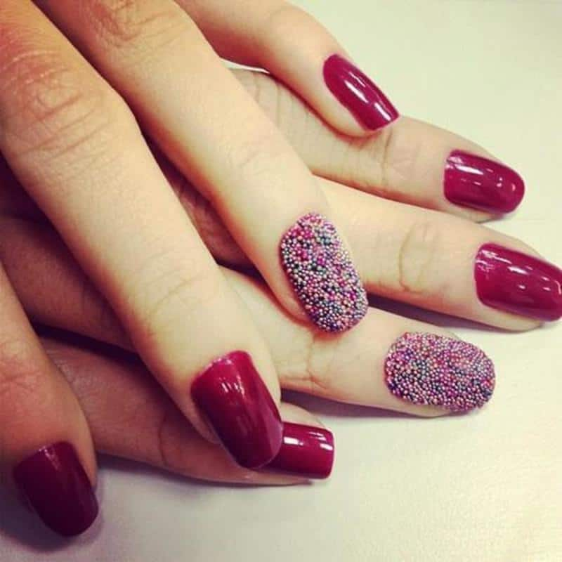 The trendy nail arts never gonna out from fashion 10