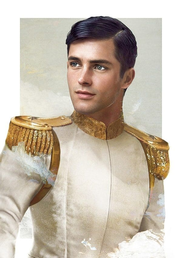 Disney princes can breathe in such illustrations 4
