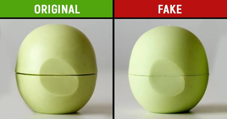 Differentiate between the real and the fake items