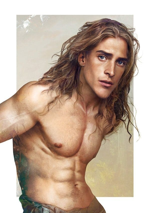 Disney princes can breathe in such illustrations 14