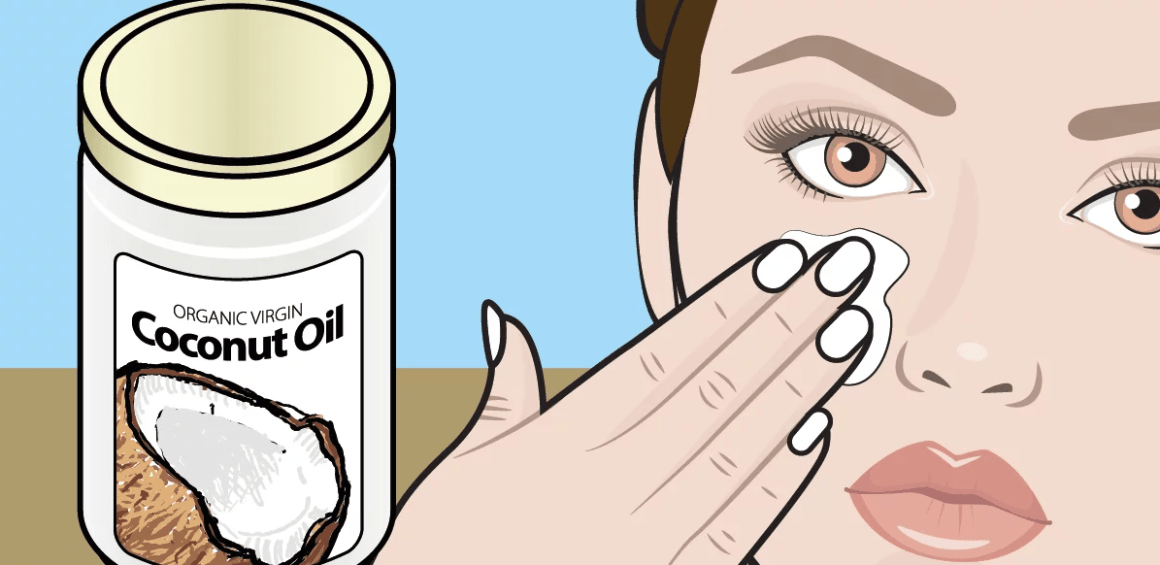 Use coconut oil to look younger