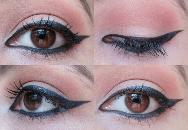 Winged Eyeliner: Step-by-step 3